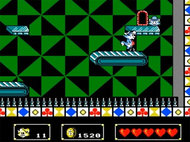 Rockin' Kats gameplay NES