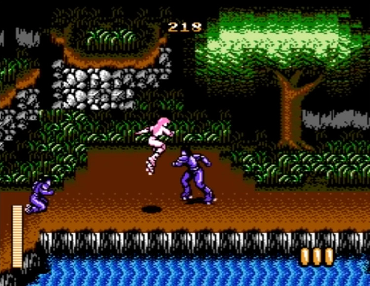 RollerGames NES gameplay