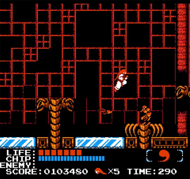 Kabuki Quantum Fighter / gameplay NES