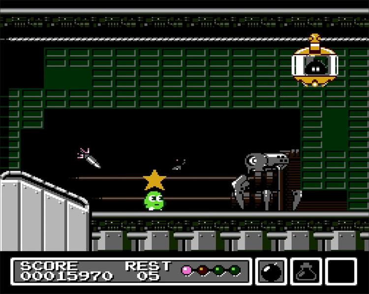 Mr. Gimmick NES gameplay