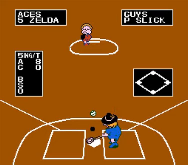 Dusty Diamond's All-Star Softball / NES screenshot