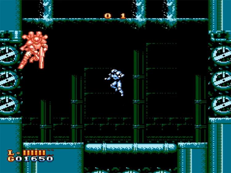 Shatter Hand / gameplay NES