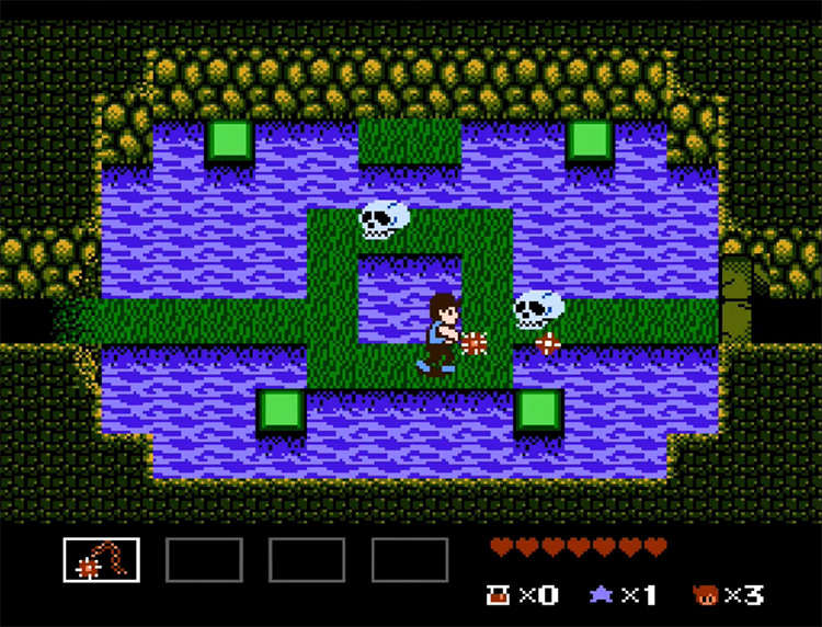 StarTropics gameplay screenshot