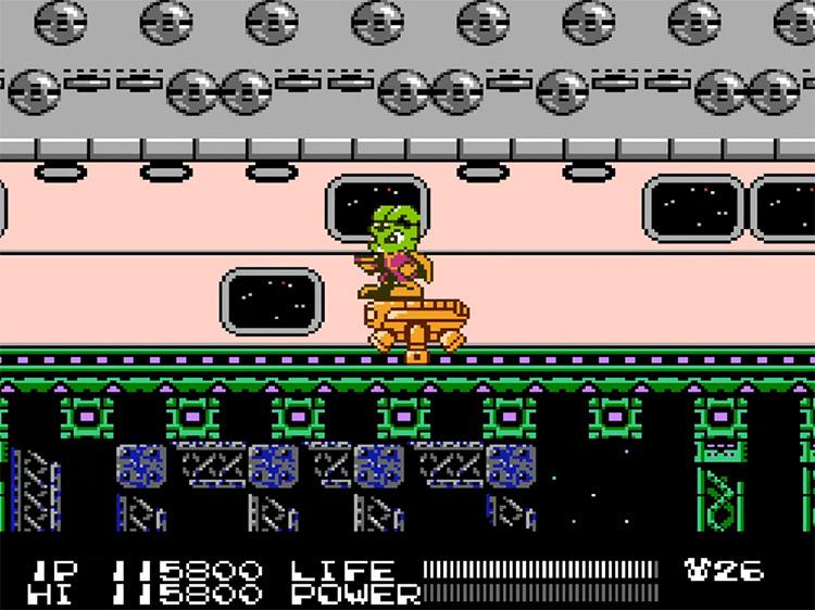 Bucky O'Hare NES game