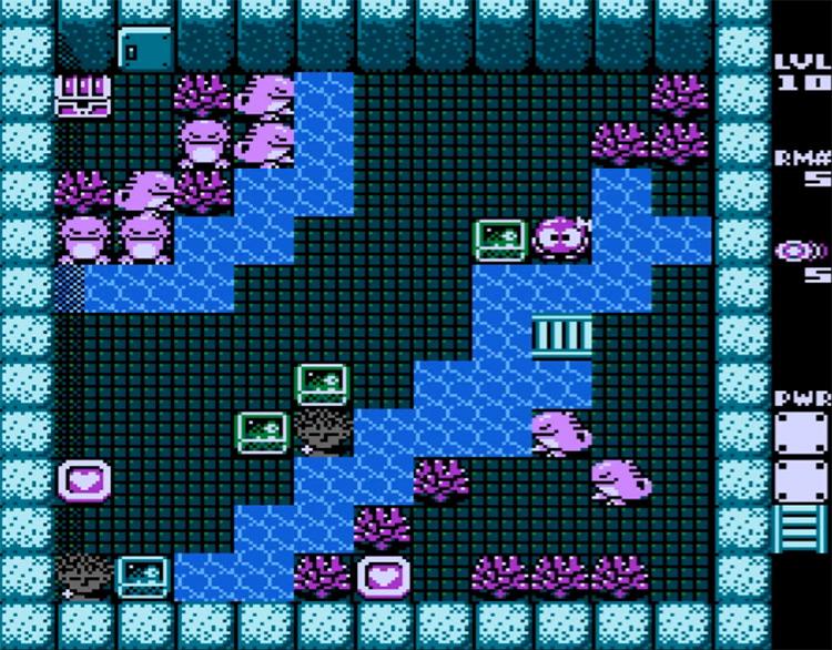 Adventures of Lolo 3 (1991) gameplay NES