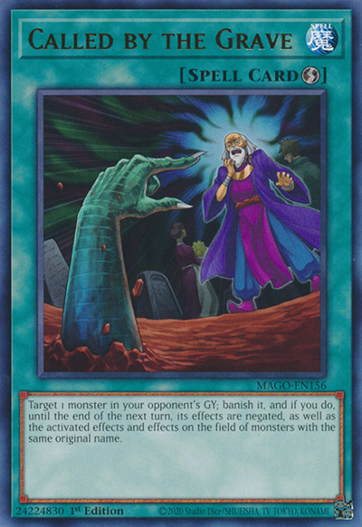 Called by the Grave Yu-Gi-Oh Card