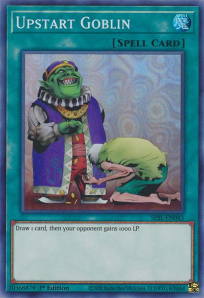 Upstart Goblin YGO Card