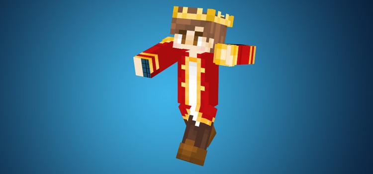 Red Prince Skin Design / Minecraft