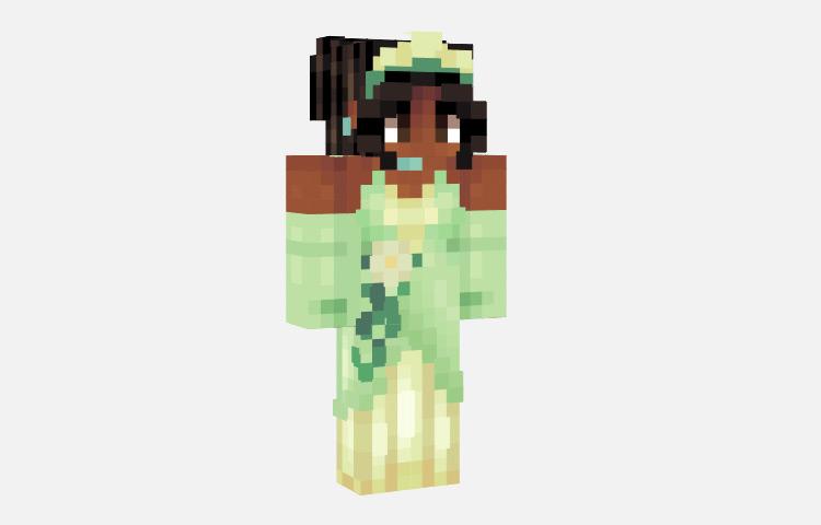 Tiana Disney Princess Skin for Minecraft