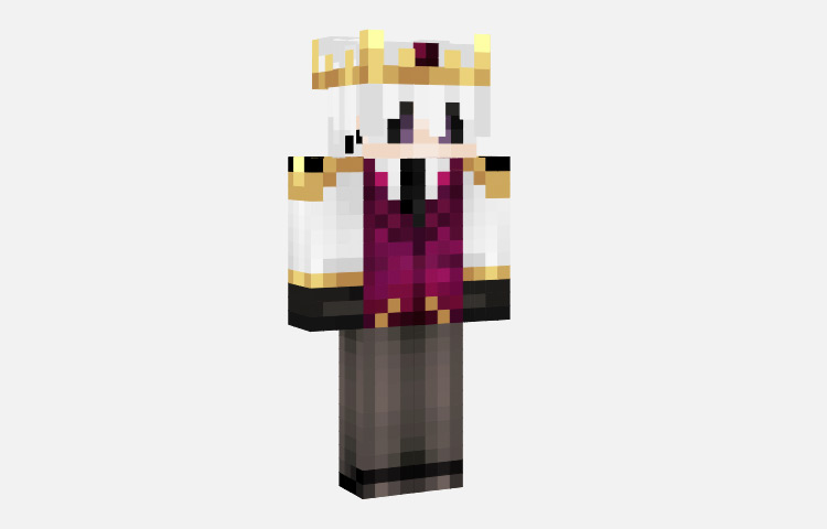 Wither Prince Fancy Skin for Minecraft