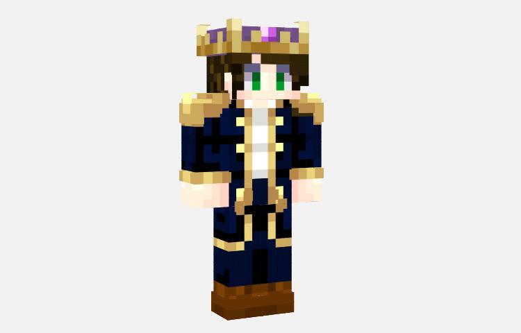 Basic Prince Skin for Minecraft