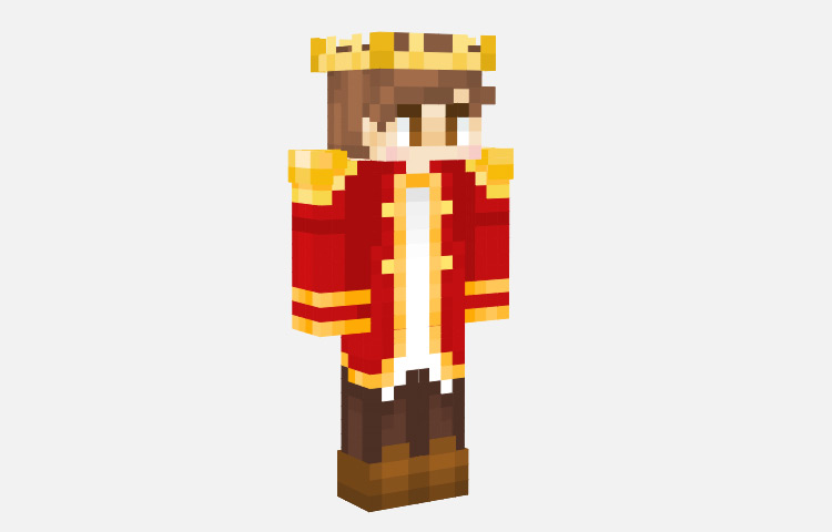 Red Prince Skin for Minecraft