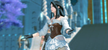 Female mage DPS character with GPose / FFXIV