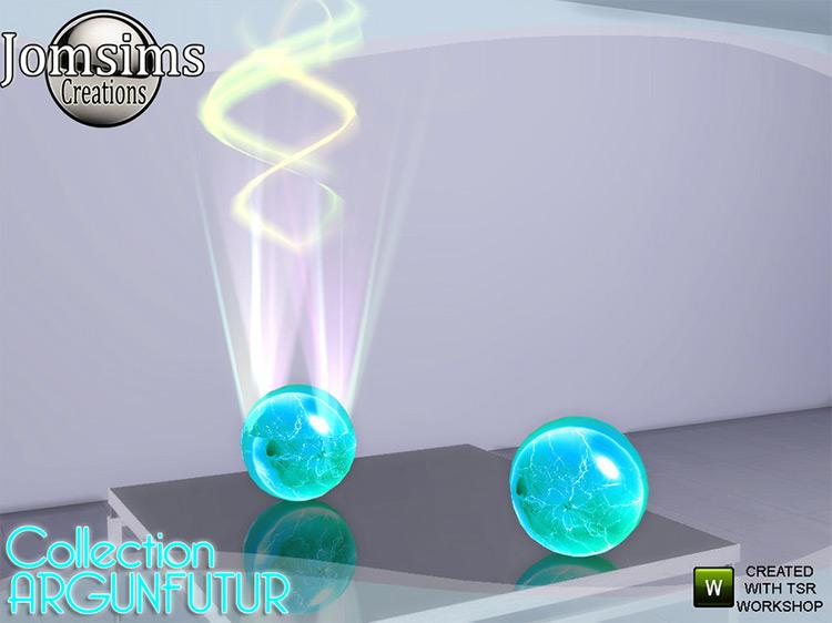 Argunfutur Laser Light for The Sims 4