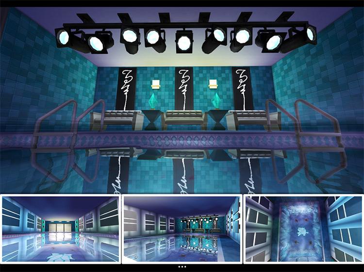 Rave Royale Lot / Sims 4 CC