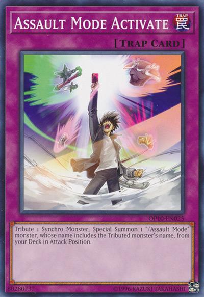 Assault Mode Activate YGO Card