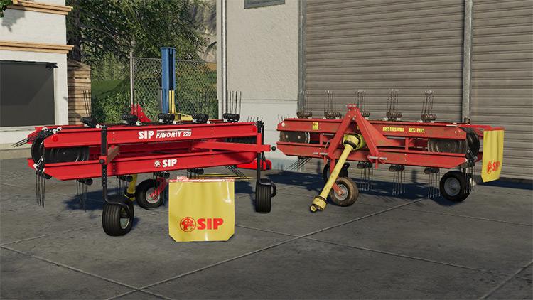 SIP Favorit 220 Farming Simulator 19 Mod