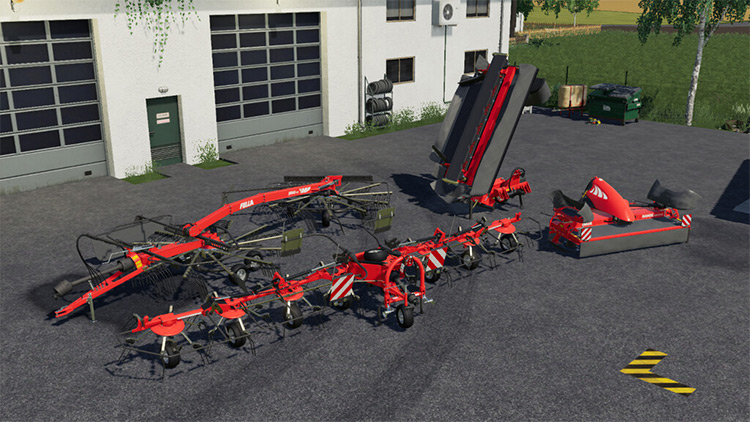 Fella Grassland Equipment Mod for FS19