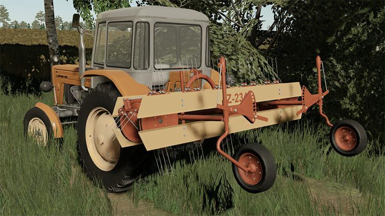 Z-234 Tedder / Farming Simulator 19 Mod