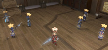 Lalafell Onion Knight Squadron in Final Fantasy XIV