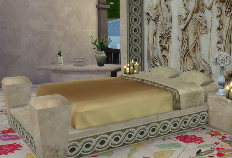 The Roman Objects Collection / Sims 4 CC