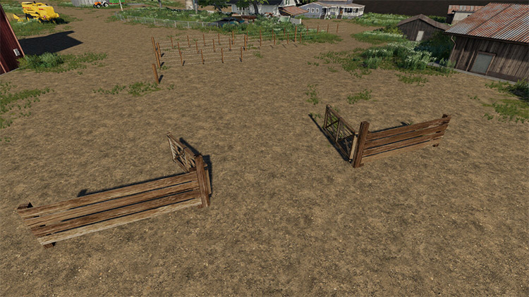 South American Fence Pack Mod for FS19