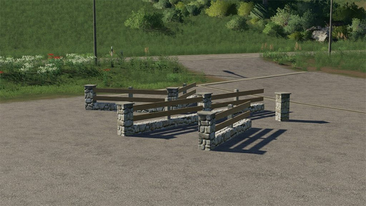 New Fence Pack / FS19 Mod Preview