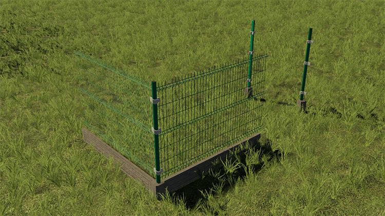 Panel Fence & Gates / FS19 Mod