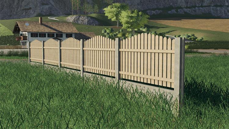 Pack Of Old Fences / FS19 Mod