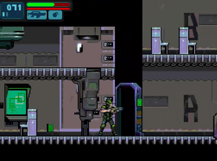 Aliens Infestation / NDS gameplay