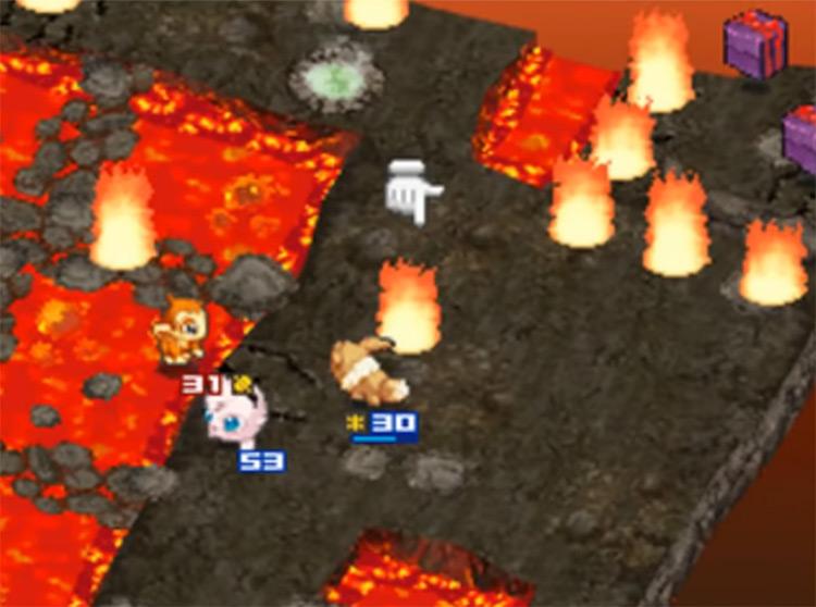Pokémon Conquest / NDS game screenshot