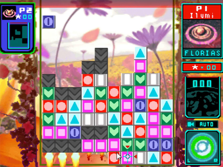 Meteos NDS game screenshot
