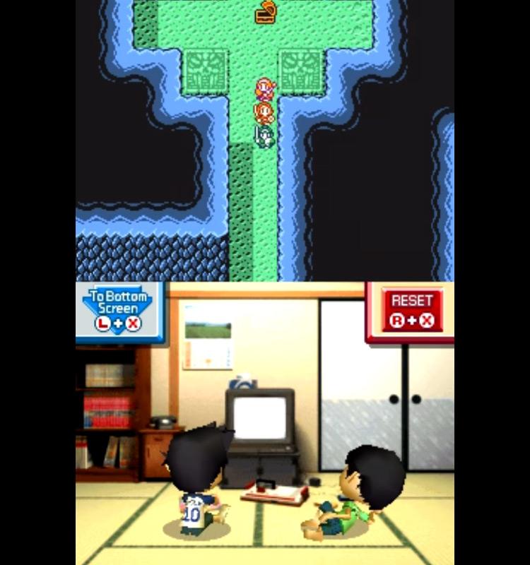 Retro Game Challenge NDS gameplay
