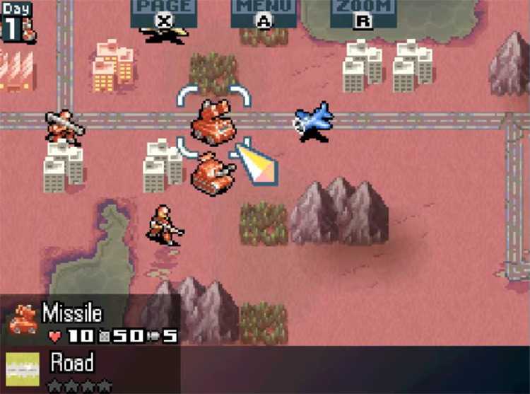 Advance Wars: Days of Ruin gameplay