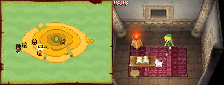 The Legend of Zelda: Phantom Hourglass NDS gameplay