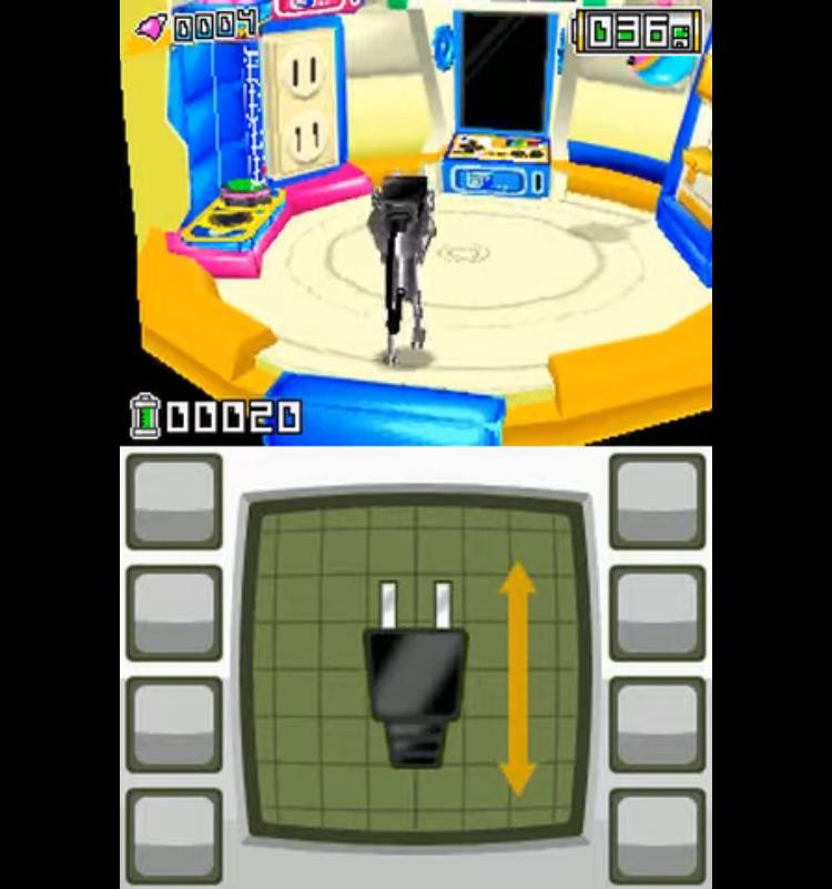 Chibi-Robo! Park Patrol NDS gameplay