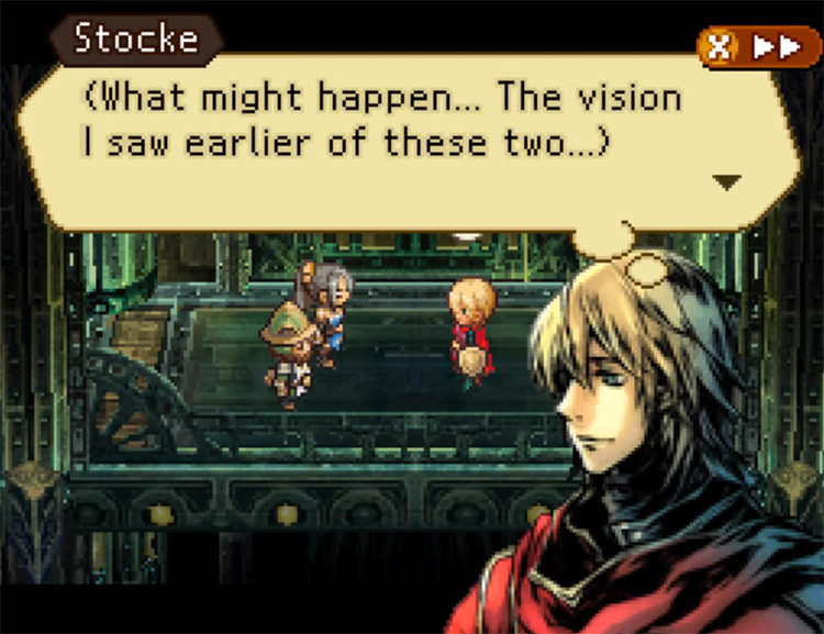 Radiant Historia NDS gameplay