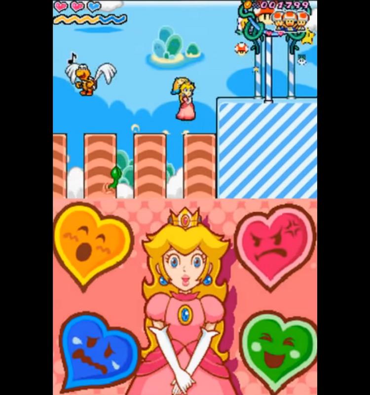 Super Princess Peach gameplay