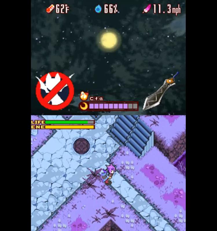 Lunar Knights NDS screenshot
