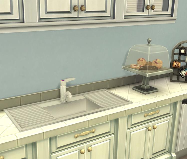 Sleek Kitchen Sink / Sims 4 CC