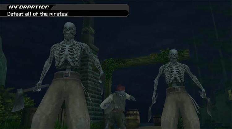 Undead Pirates in Kingdom Hearts II