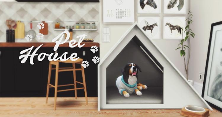 Pet Housing Item / Sims 4 CC