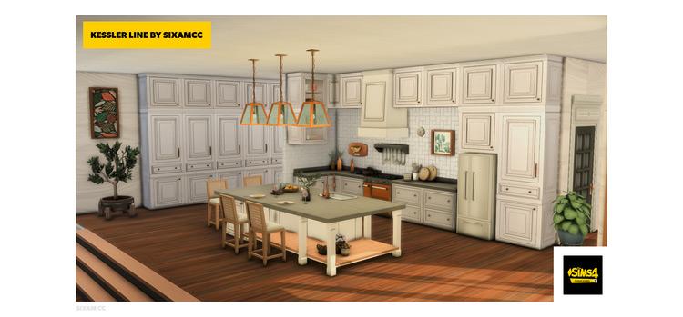 Kessler Kitchen CC Pack for The Sims 4