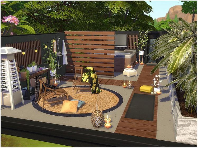 Home Spa Room / Sims 4 CC