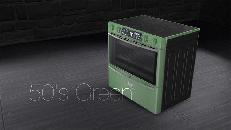 H&B Powerwave Stove / Sims 4 CC