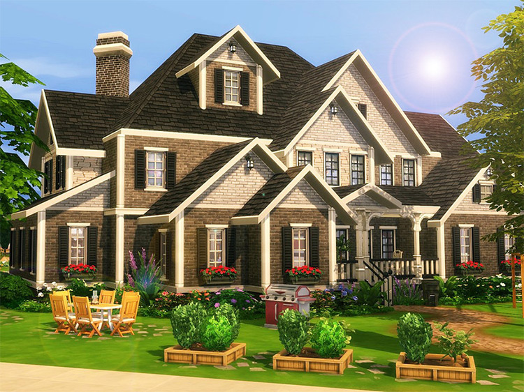 Lavender Hill Lot for Sims 4