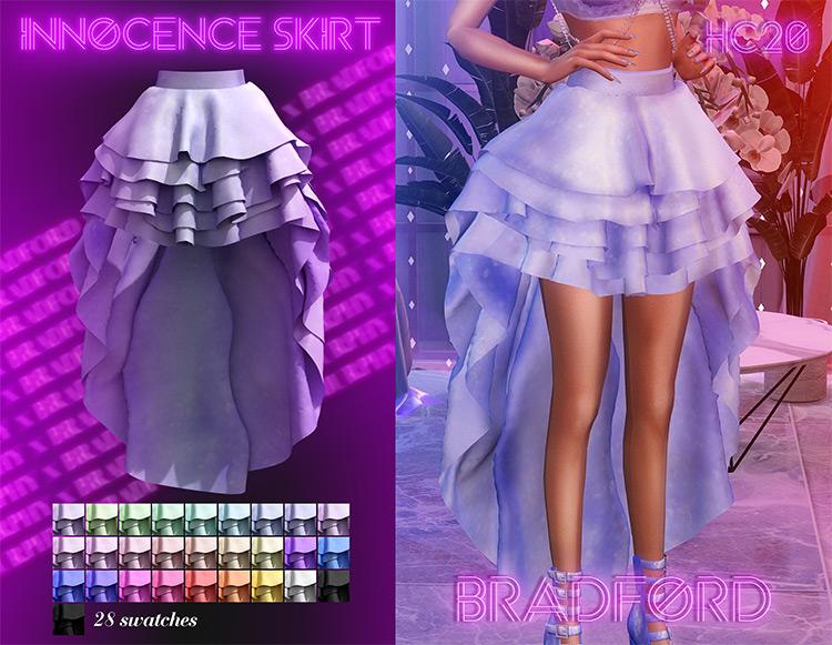 Innocence Skirt / Sims 4 CC