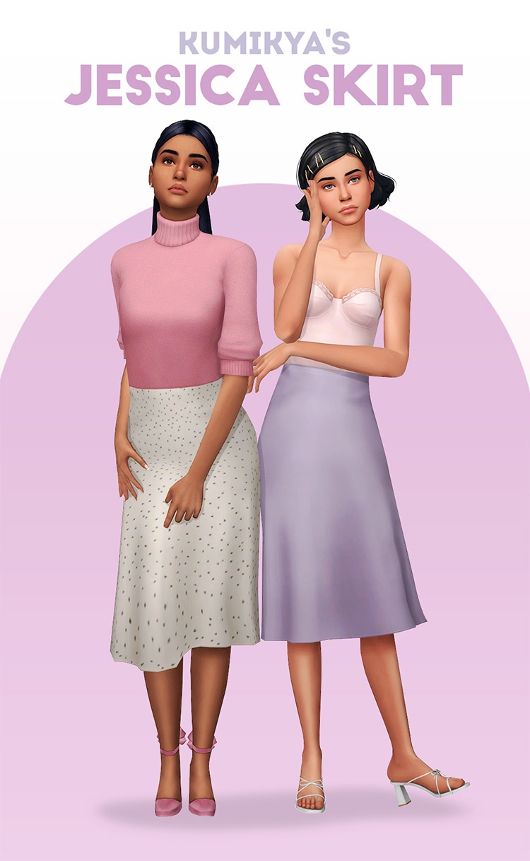 Jessica Skirt Design for The Sims 4
