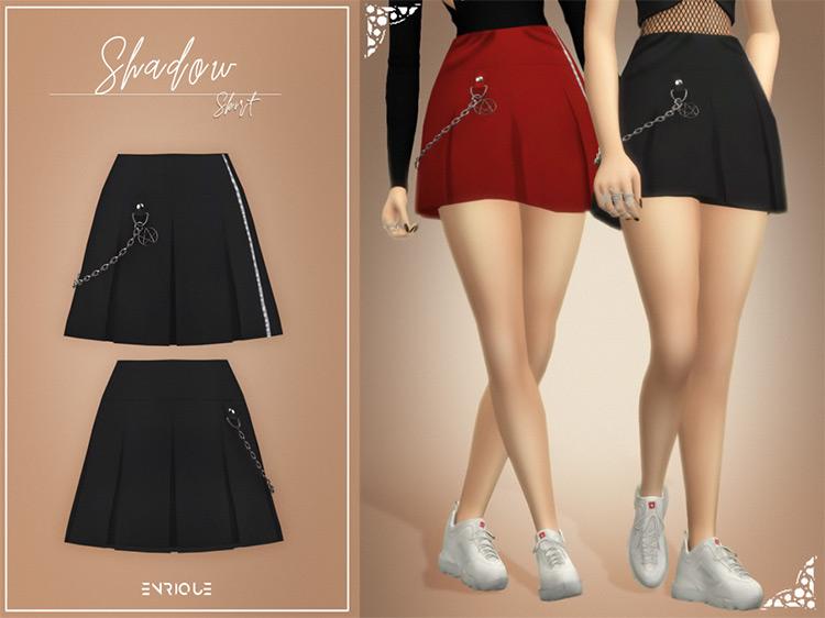 Shadow Skirt / Sims 4 CC