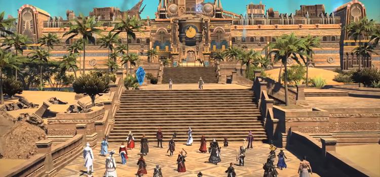 Royal City of Rabanastre 24-man Raid Cutscene / FFXIV